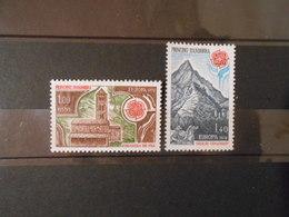 ANDORRE YT 269/270 EUROPA 1978** - Andorre Français