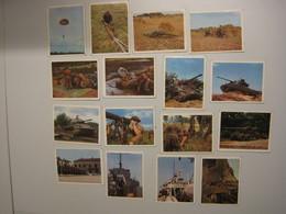 Lot Prenten ABL Armee Belge Belgisch Leger Verzameling Onze Wapens Nrs .... - Altri