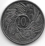 Burundi 10 Franc 2011  Km 21  Bu - Burundi