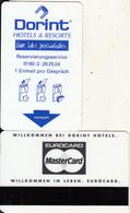 GERMANY - Dorint(reverse Eurocard/MasterCard), Hotel Keycard, Used - Hotelsleutels (kaarten)