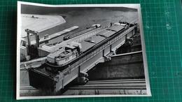 57 - PHOTO - 24cm X18cm  - SAINT LOUIS ARZVILLER - LE PLAN INCLINE TRANSVERSAL -PENICHE ST- ODILE STE 1255. F GAMBSHEIM - Arzviller