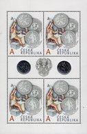 Czech Republic - 2020 - Jáchymovs Thaler - 500th Anniversary - Mint Miniature Stamp Sheet With Hot Foil Intaglio Imprint - Tchéquie