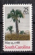 USA,1988- South Carolina,200 Years Of Ratification Constitution. Cat. Mi 1979. NewNH - Neufs