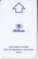 GERMANY - Hilton(reverse Eurocard/MasterCard), Hotel Keycard, Used - Hotelsleutels (kaarten)