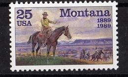 USA,1989- Centenary Montana.Cat. YT 1850. NewNH - United States