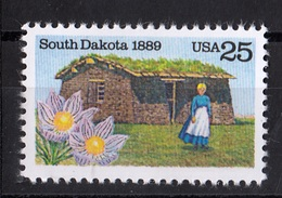 USA,1989- South Dakota. NewNH - United States