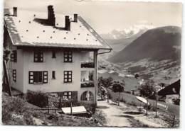 HAUTELUCE - Chalet Marie Thérèse Et Mont Blanc. Edit Cim Postée 1955 - Altri Comuni