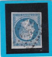 N° 14 B   PC  4127  LA CHAUX NEUVE  (24 ) DOUBS - REF 12914 - IND 17 - COTE 220€ + Variété / Bureau Supplémentaire - 1853-1860 Napoleon III