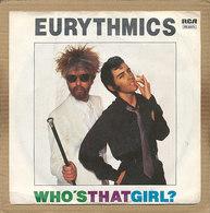 "7"" Single, Eurythmics - Who's That Girl - Disco, Pop"