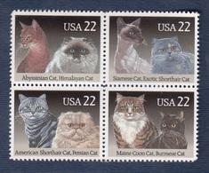 USA-1988, Cats. Scott 2372 To 2375a NewNH - Neufs