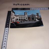 C-84245 NORCIA PERUGIA PIAZZA SAN BENEDETTO PANORAMA AUTO D'EPOCA - Italy