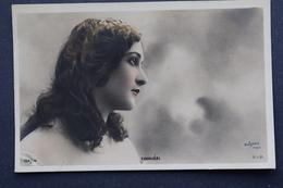 OLD POSTCARD - BELLE FEMME - Beautiful Woman -CAVALIÉRI - Photo - Reutlinger -edit. S.I.P. - Theater