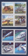 USA,1989. 20th Universal Postal Congress. 2 Plates Full Set NewNH - United States