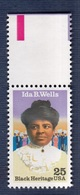 USA,  1990- Black Heritage- Ida B.Wells. NewNH - United States