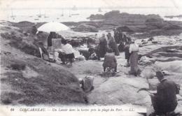 29 - Finistere - CONCARNEAU  - Un Lavoir Dans La Greve Pres La Plage Du Port - Concarneau