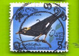 Ceylon,1964- Grakle.Cat.Mi 343. Cancelled Stamp NH - Sri Lanka (Ceylon) (1948-...)