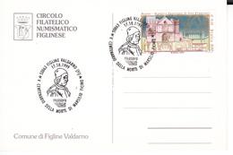 Sal065 FIGLINE VALDARNO FIRENZE 1999 V CENTENARIO MARSILIO FICINO - Sciences