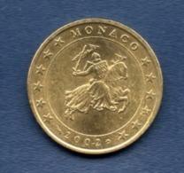 Monaco. 50 Centimes 2002 - Monaco