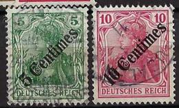 BELGIQUE 1941: 2 Timbres Oblitérés D'occupation Allemande - Belgique
