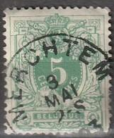 COB N° 45 Oblitération MERCHTEM - 1869-1888 Liggende Leeuw