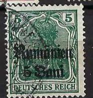 ROUMANIE 1941: 1 Timbre Oblitéré  D'occupation Allemande - Otros