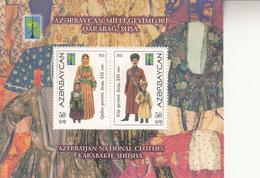 2012  Azerbaijan Costumes Culture Souvenir Sheet  MNH - Azerbaijan