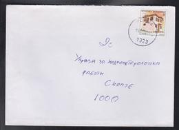 RC KUMANOVO, POST OFFICE 23, REGULAR CANCEL - PĆINJA 1323 A (2000-) / STAMP MICHEL 270 ** - Macedonië
