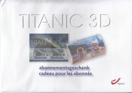 2012  Belgium  Titanic 3D Unopened Gift Pack - Belgien