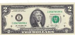 "USA 2 DOLLARS 2013 MINNEAPOLIS MINNESOTA (I) PREFIX ""I-A"" UNC ""free Shipping Via Registered Air Mail"" - Federal Reserve Notes (1928-...)"
