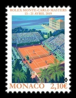 Monaco 2019 Mih. 3428 Tennis. Monte-Carlo Masters 2019 MNH ** - Neufs