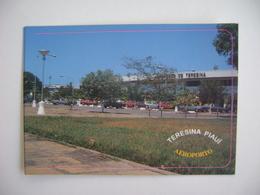 BRAZIL BRASIL - POST CARD TERESINA / PIAUI AIRPORT IN THE STATE - Aerodromes
