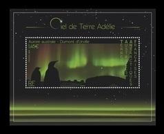 TAAF 2020 Mih. 1063 (Bl.76) Dawn Sky On Terre Adelie. Fauna. Penguins MNH ** - Terre Australi E Antartiche Francesi (TAAF)