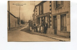 CPA  - MOISENAY - La Grande Rue - Animée  - Circulée  - - Other Municipalities