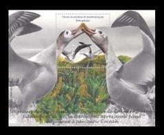 TAAF 2020 Mih. 1065 (Bl.77) Fauna. Birds. Albatrosses MNH ** - Terre Australi E Antartiche Francesi (TAAF)