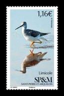 St. Pierre And Miquelon 2020 Mih. 1325 Fauna. Birds. Wader MNH ** - St.Pierre & Miquelon