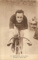 CYCLISME  KAUFMANN SPRINTER SUISSE CHAMPION DU MONDE 1925 - Cyclisme