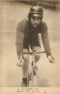CYCLISME  JULES MIQUEL STAYER CHAMPION D'HIVER 1923-1924 - Cyclisme