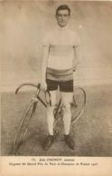 CYCLISME  JEAN  CUGNOT AMATEUR GAGNANT DU GRAND PRIX DE PARIS ET CHAMPION DE FRANCE 1923 - Cyclisme