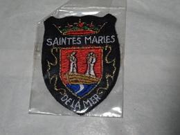 Blason écusson Tissu Saintes Maries De La Mer Wappen - Ecussons Tissu