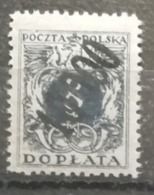 Pologne 1924 / Yvert TAXE N°62 / * - Impuestos