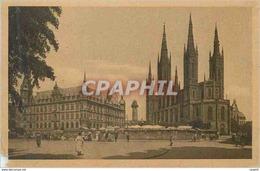 CPA Weisbaden Place Du Marche - Wiesbaden