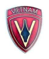 Pin's Insigne FORCE D'ASSAUT IWO JIMA Avec Mention VIETNAM - USA - J023 - Armee
