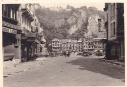 PHOTO ORIGINALE 39 / 45 WW2 WEHRMACHT FRANCE LISIEUX ET ENVIRONS ? DANS LES RUINES - Guerre, Militaire