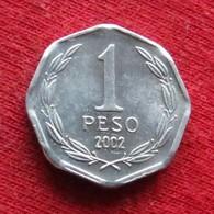 Chile 1 Peso 2002 Chili  Wºº - Chile