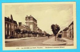 CPA LA ROCHE SUR YON  Boulevard Aristide Briand 85 Vendée - La Roche Sur Yon
