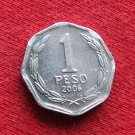Chile 1 Peso 2006 Chili  Wºº - Chile