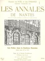 44  NANTES  No 111 LES ANNALES DE NANTES NOEL  ET LES  ETRENNES 1959   LES FOLIES DANS LA BANLIEUE NANTAISE - Tourisme & Régions