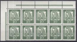BRD  HBL 11 B, Mit Oberrand, Postfrisch **, Dürer 1961 - Blocchi