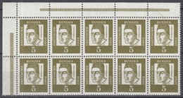 BRD  HBL 12 A, Mit Oberrand, Postfrisch **, Albertus 1963 - Blocchi
