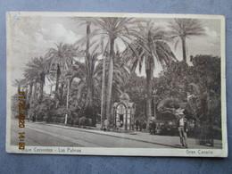 CP Espagne LAS PALMAS DE GRAN CANARIA  Les Iles Canaries - Parque Cervantes LAS PALMAS 1930 - Gran Canaria